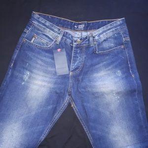 Armani Jeans Jeans - ARMANI JEANS BLUE JEAN